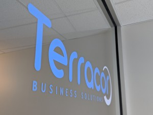 Terracor - Internal Acrylic Sign
